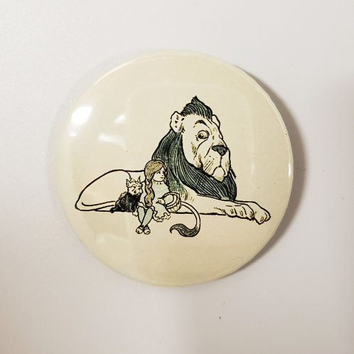 The Lion and Dorothy Pin