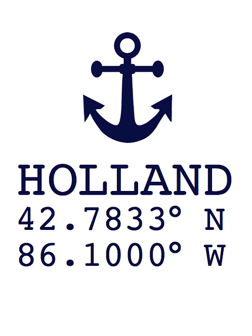 'Holland Anchor' Artwork