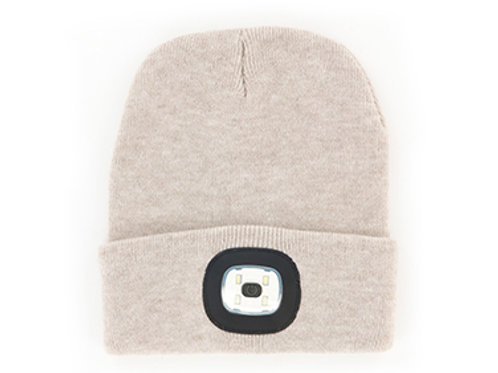 Oat Women's/Unisex Rechargeable LED Beanie