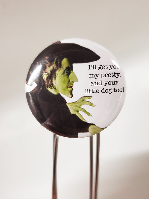 Wicked Witch Bookmarker