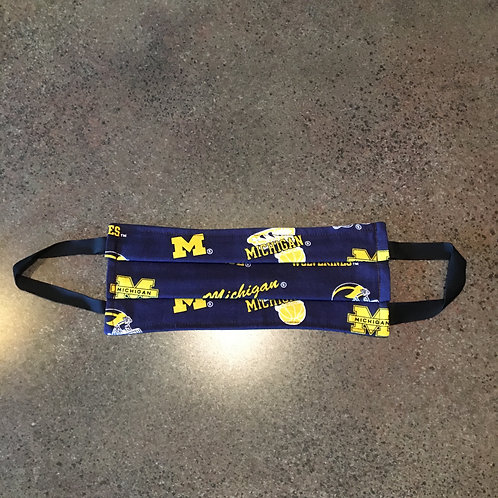 University of Michigan Mask Elastic