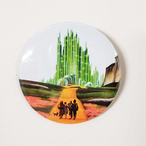 Emerald City Pin