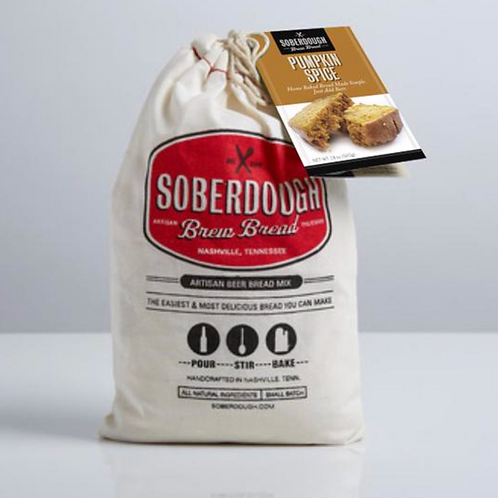 Pumpkin Spice Soberdough Brew Bread