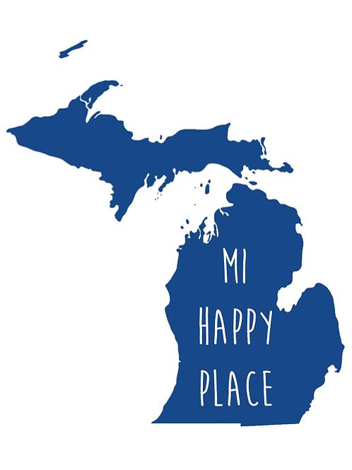 'MI Happy Place' Artwork