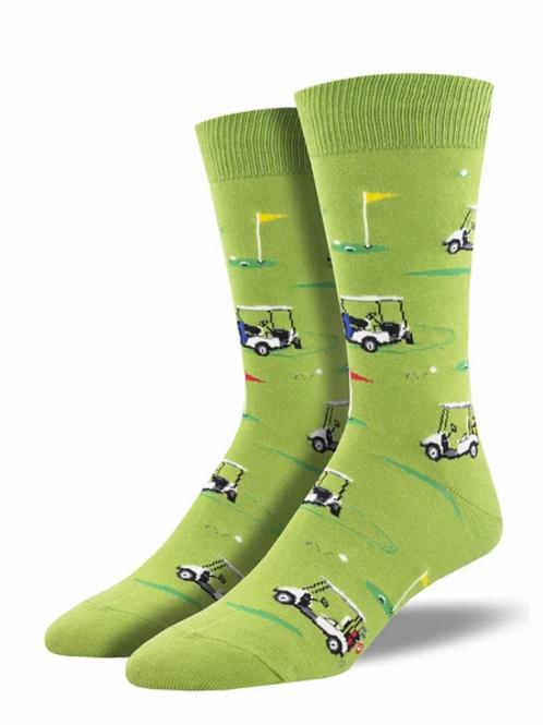 Putting Around Golf Socks/Men's Socks