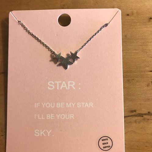3-Star Necklace