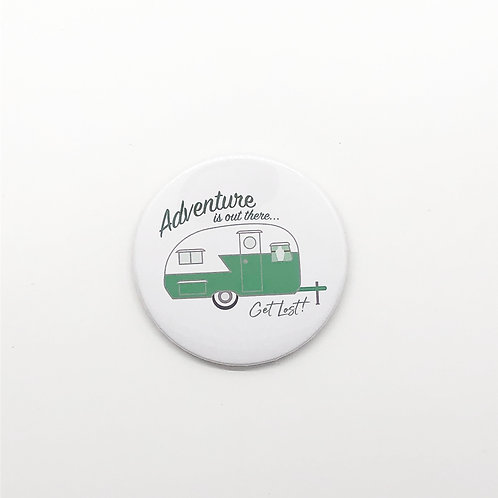 """Adventure is Out There"" Magnet"