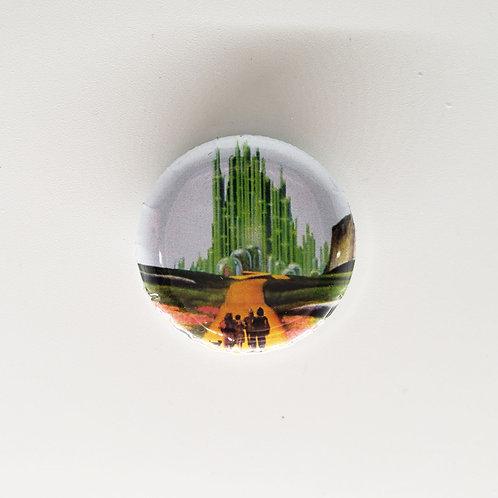 Emerald City Small Pin