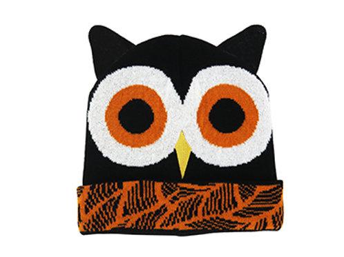 Kid's Owl Knit Hat