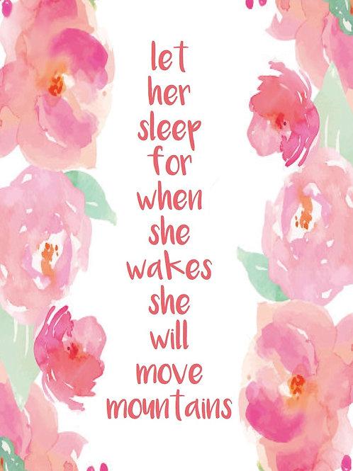 'Let Her Sleep' Artwork