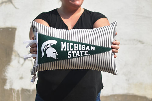 Michigan State University Pennant Pillow