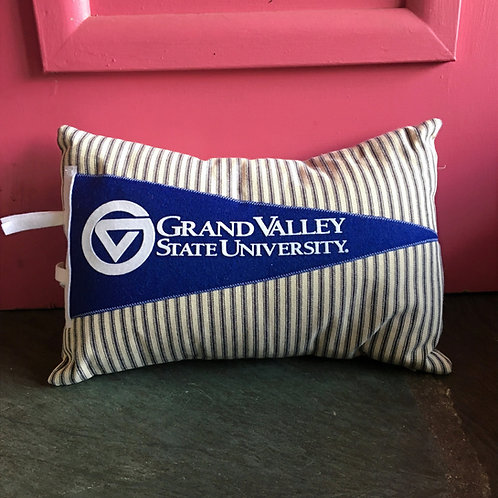 GVSU Pennant Pillow