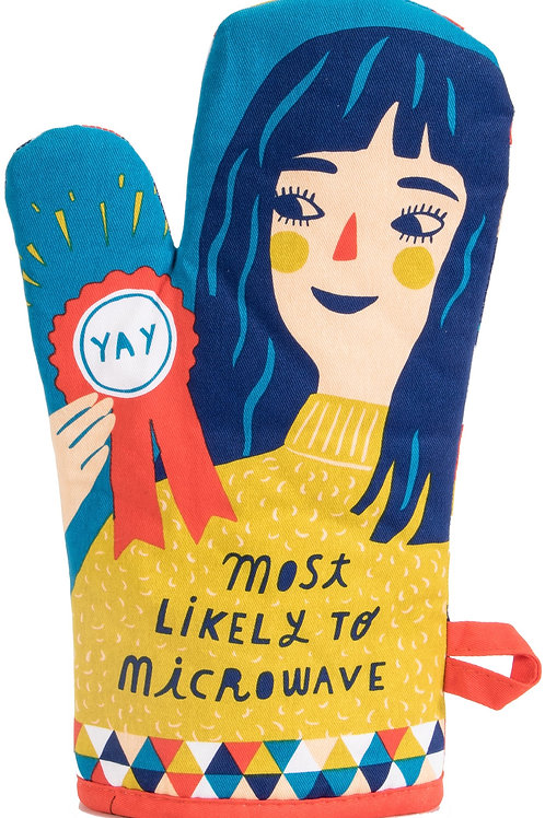 'Most Likely to Microwave' Oven Mitt