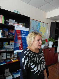 Diskussion mit Svetlana Mironova-Comrat