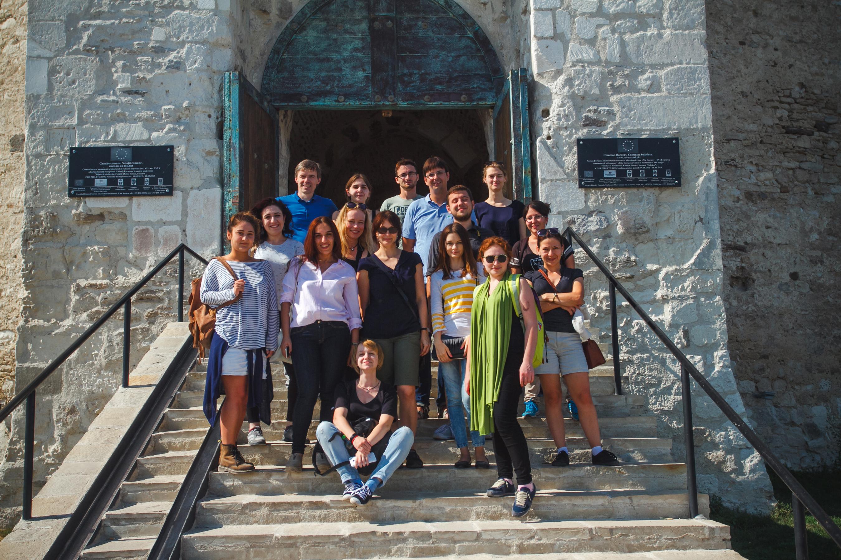 Foto-Teilnehmer in Soroca