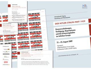 Tagung Der Hitler-Stalin-Pakt 1939. Grenzverschiebungen, Verfolgung, Deportationen und die Erinnerun