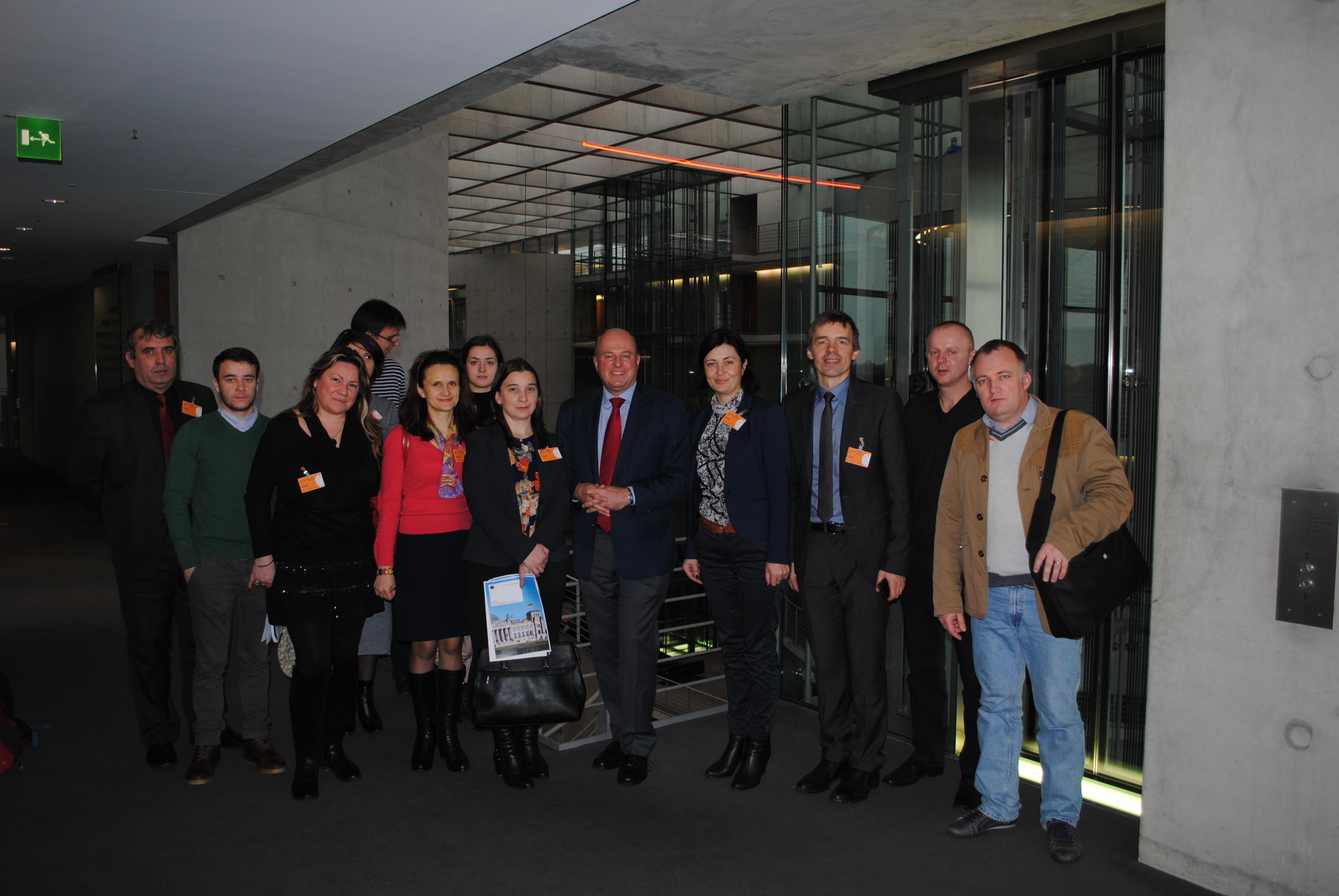 AA-Sprachen und Minderheiten-Treffen mit Koschyk