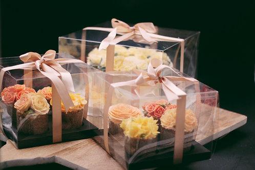 4 mini cake set container