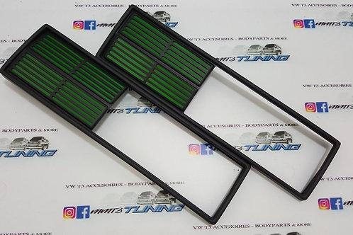 VW T3 Rear Light Blenders in Green