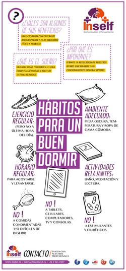 Hábitos para un buen dormir