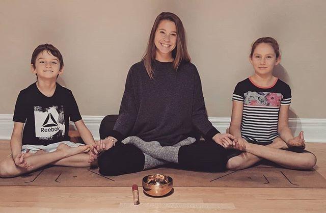 Cours de yoga privé pour enfants