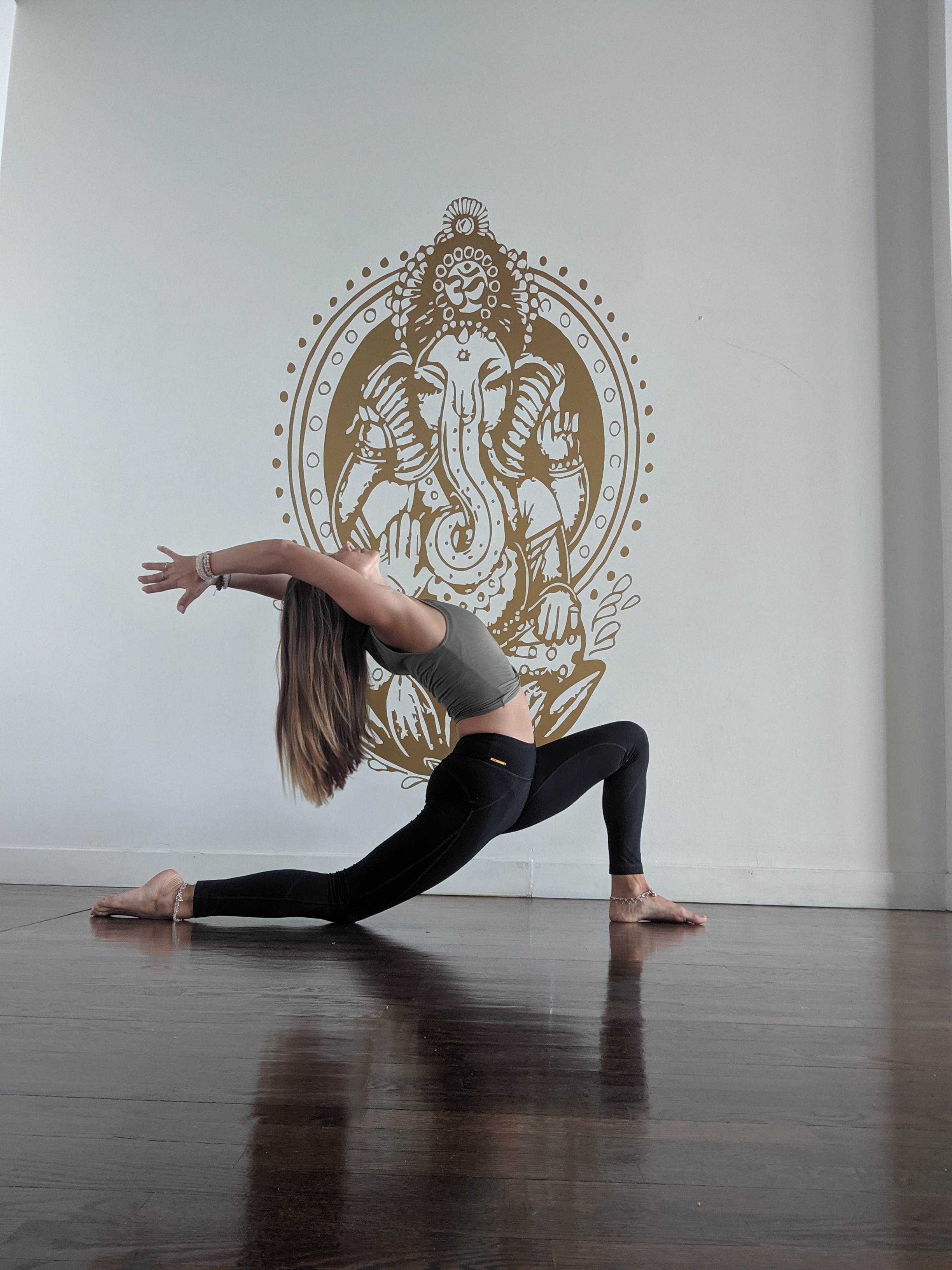 Cours de yoga en studio