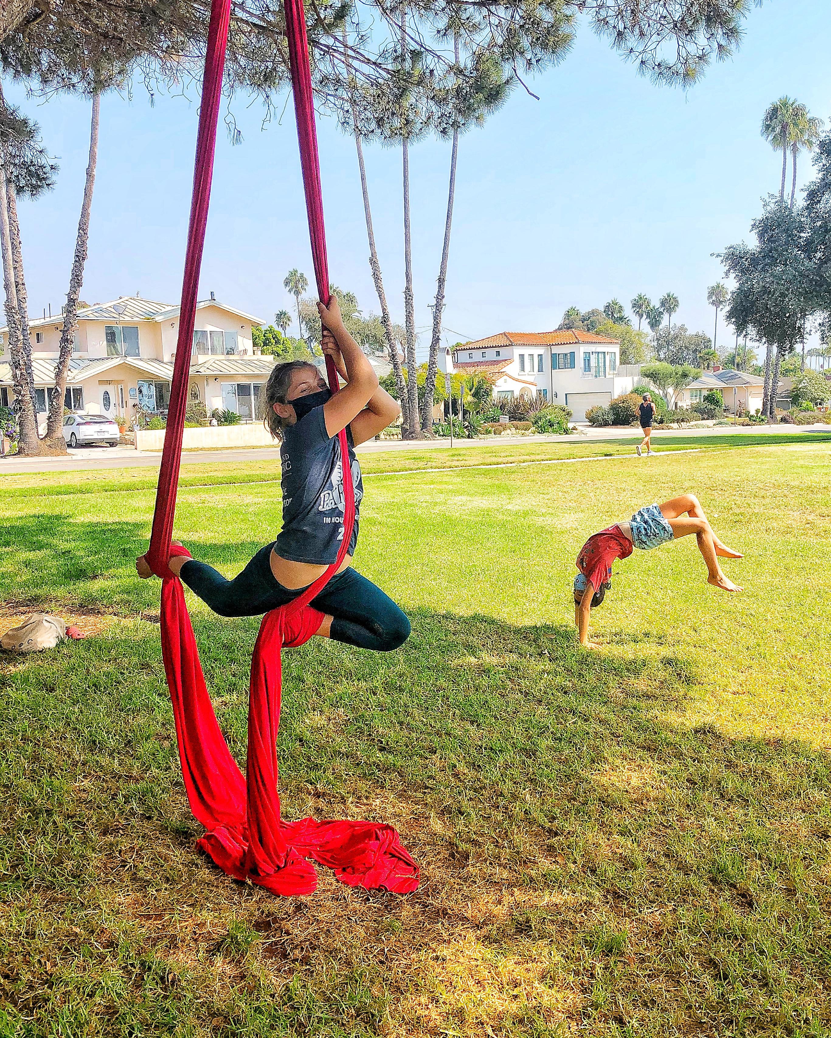 Circus Arts Camp ages 6-13