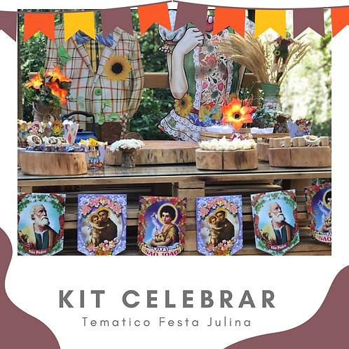Kit Celebrar Festa Junina