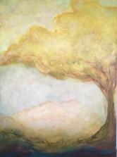 Healer 36x48 Acrylic on Wood Panel, 2009