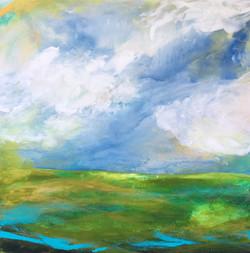 _Devin - Poet_ 24x24 Acrylic on Wood Panel, 2016