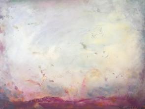 "Nadie - ""Hope"" 18x24 Acrylic on Wood Panel, 2015"