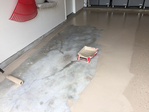 garage flooring, garage epoxy coating, garage floor cover, Houston,