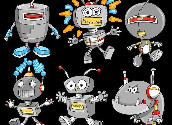Roboter Set
