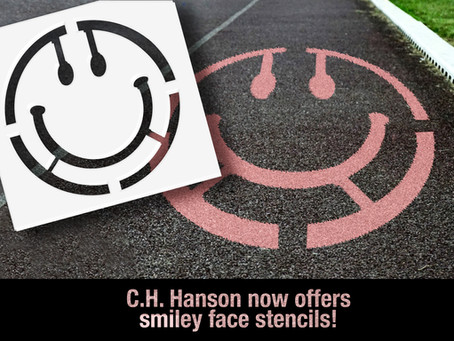 C.H. Hanson Announces Smiley Face Stencils