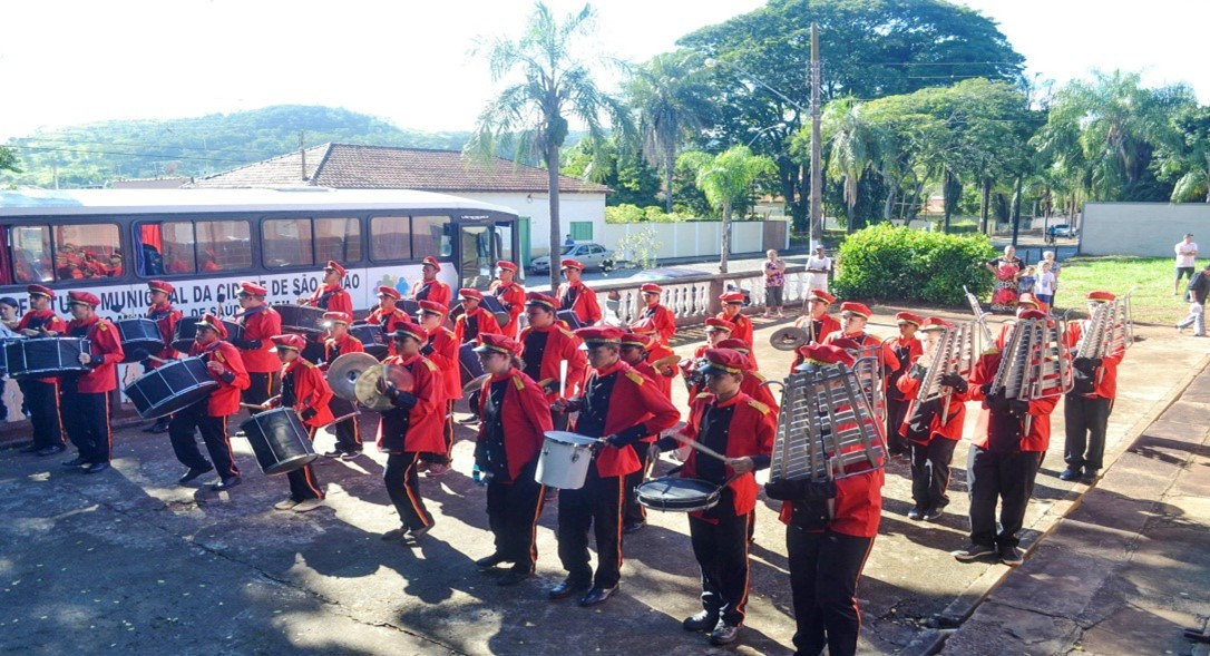 Dia do Ferroviário – desfile– Fonte- PMS
