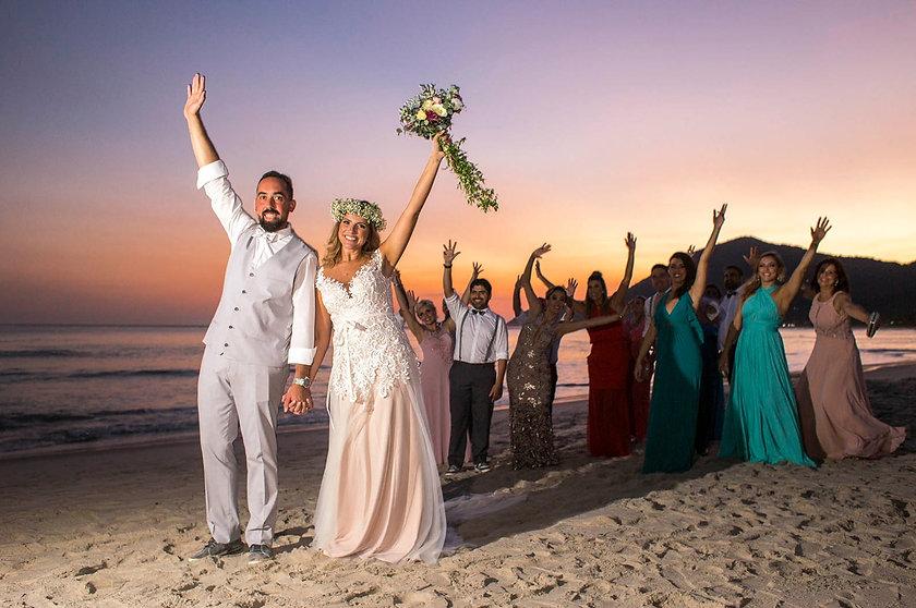 casamento na paia de maresias hotel pé na areia