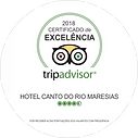 TripAdvisor -Certificado de Excelência 2018