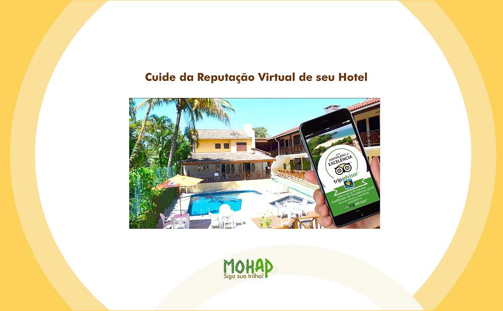 As avaliações e as respostas dadas às mesmas são responsáveis pela decisão do fechamento das reservas nos hotéis