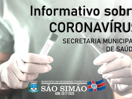Informativo sobre o CORONAVÍRUS