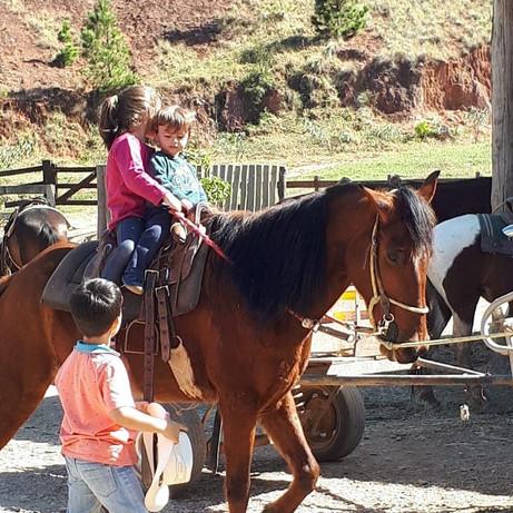 Sitio Sete Quedas Adventure - Passeio à cavalo