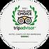 TripAdvisor -Certificado de Excelência 2