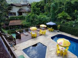 piscina e espaço sansara
