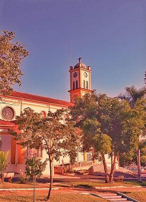 Igreja Matriz - São Simão  Foto de Helcio de Souza