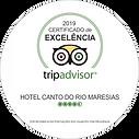 TripAdvisor -Certificado de Excelência 2019