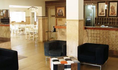 Hotel São Simão – Hall de entrada - Font