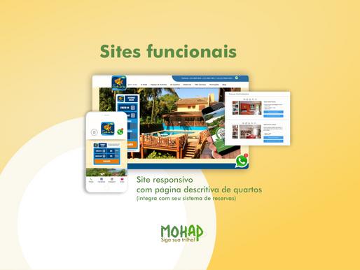Diferença entre sites funcionais e sites institucionais