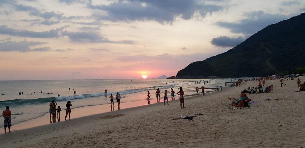 Praia de Maresias - hotel pé na areia
