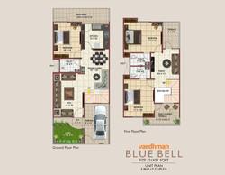 Vardhman City Blue Bell - 2D VIEW
