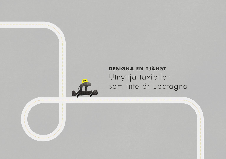 Nyttja taxibilar