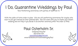 Paul Osterholm Weddings